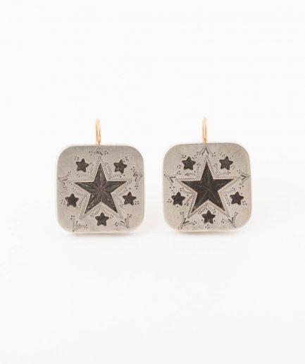 Boucles d'oreilles boutons de col Bijoux Anciens - Caillou Paris