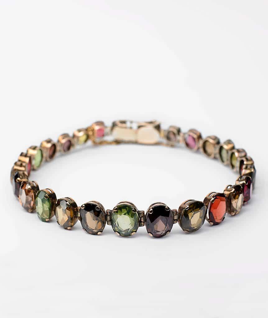 Bracelet multi pierres fines