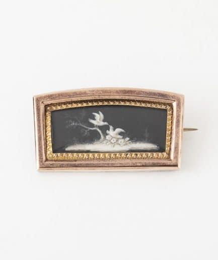 Broche miniature Broche ancienne Argent Bijoux Anciens - Caillou Paris