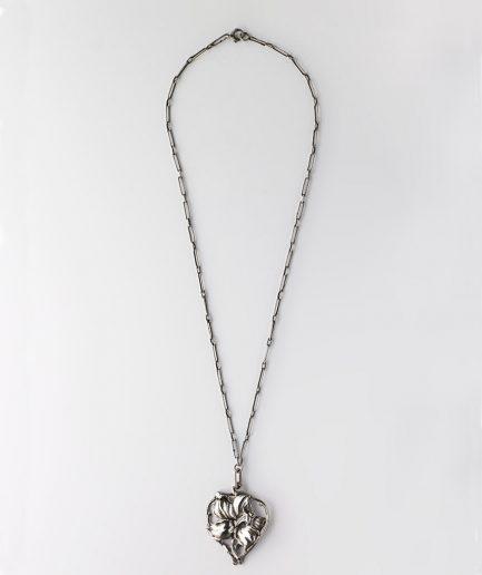 Collier Art nouveau argent