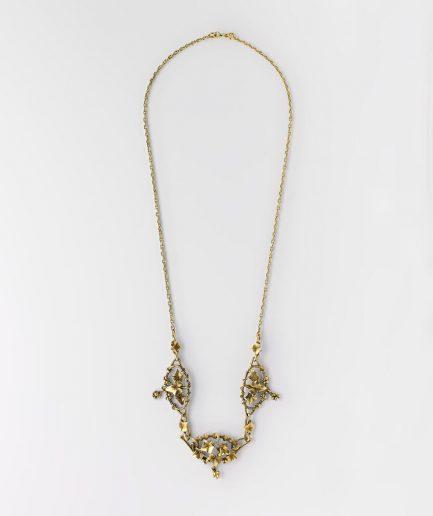Collier draperie Art nouveau Art Nouveau Bijoux Anciens - Caillou Paris
