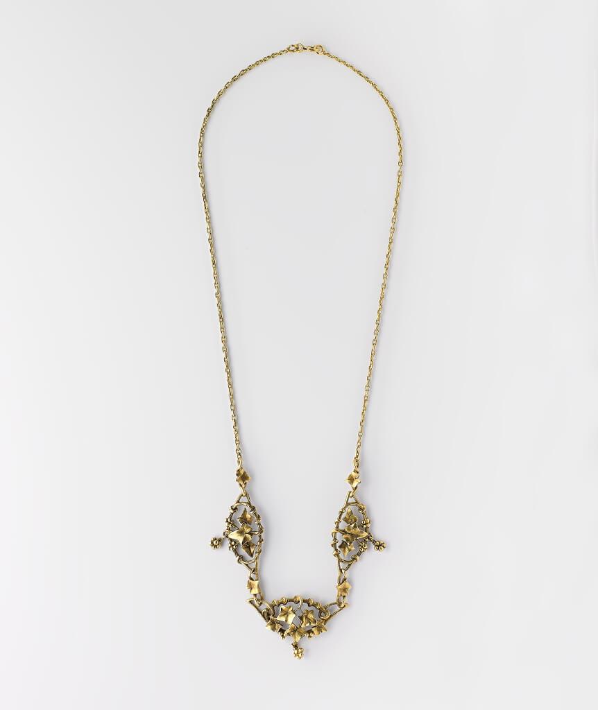Collier draperie Art nouveau