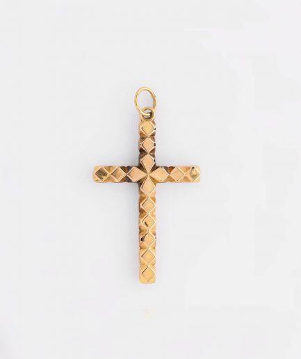 Croix coeur product Bijoux Anciens - Caillou Paris