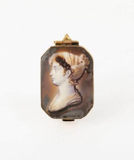 Épingle jabot Broche ancienne Fin 18ème siècle Bijoux Anciens - Caillou Paris