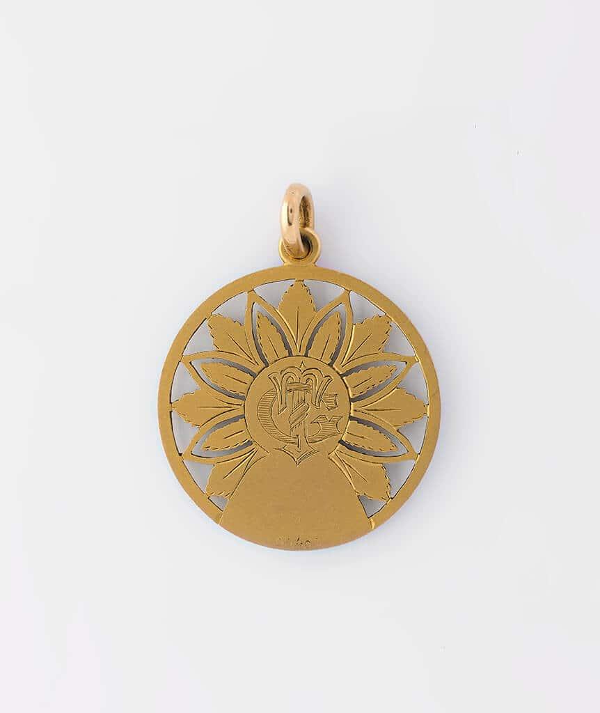 Médaille sainte dos