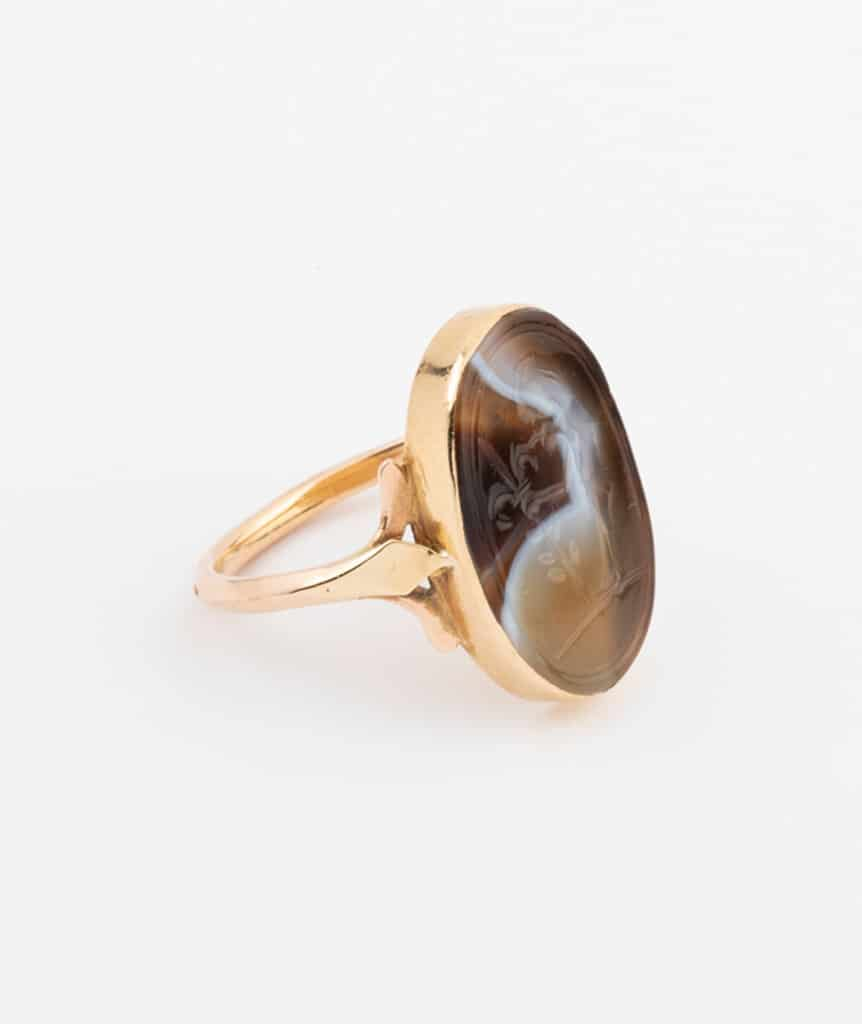 Bague intaille