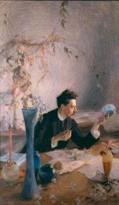 Portrait Émile Gallé, Victor Prouvé (1893)