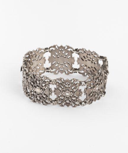 Manchette ancienne argent Bracelet Ancien Argent Bijoux Anciens - Caillou Paris