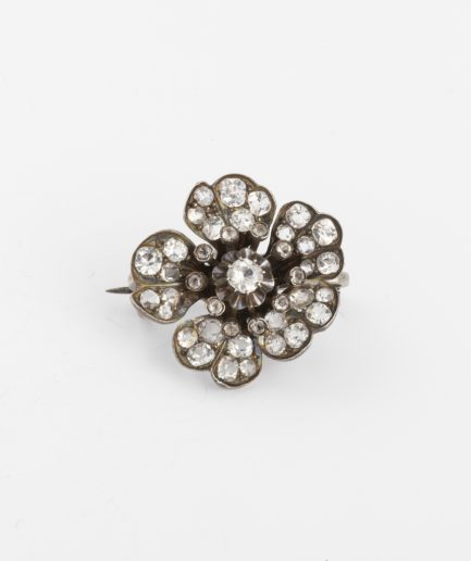 Broche ancienne argent