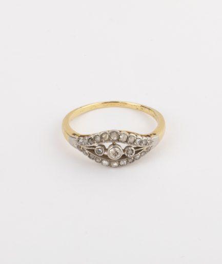 Bague ancienne diamants Bijoux Anciens - Caillou Paris