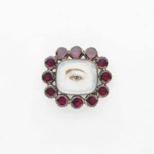 Broche Lover's eye