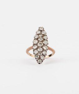 CAILLOU PARIS - bague marquise diamants