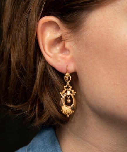 CAILLOU PARIS - boucles d'oreilles NIII porter