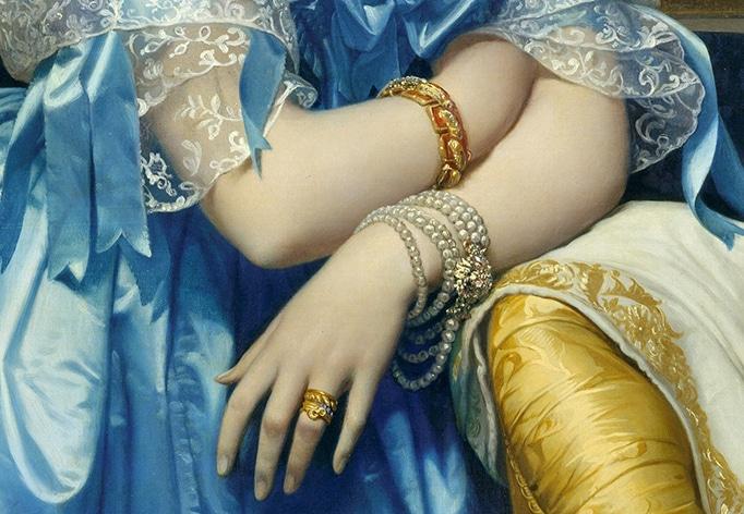 Éléonore-Marie-Pauline de Galard de Brassac de Béarn, par Jean‑Auguste‑Dominique Ingres