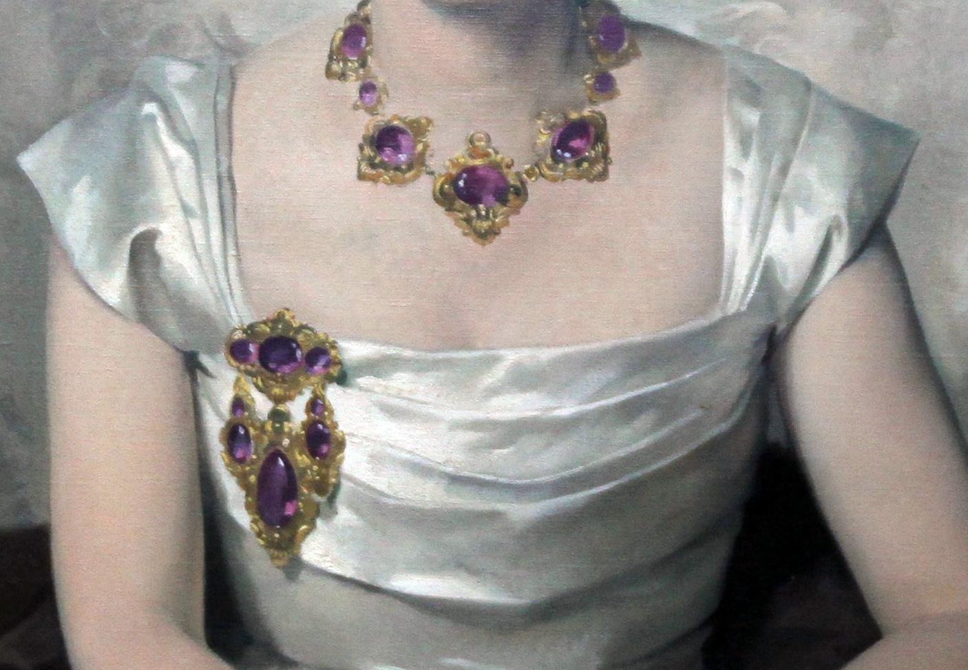 portrait lady richard taylor par sir james herbert gunn