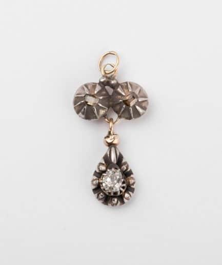 Pendentif ancien diamants Bijoux Anciens - Caillou Paris