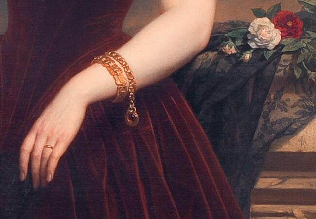 Isabelle Antoinette Barones Sloet van Toutenburg by Nicaise De Keyser