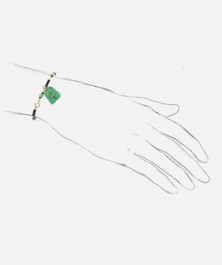 "Bracelet Art déco ""Jade"""