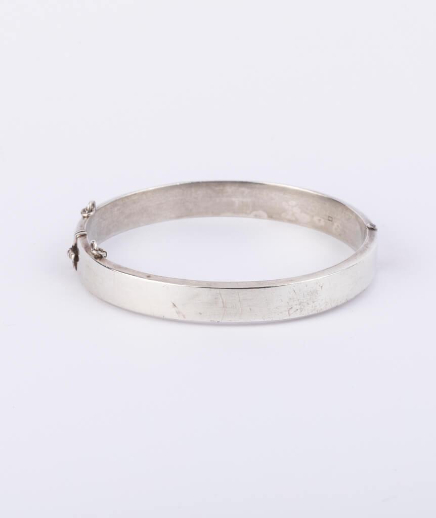Bracelet écossais argent dos