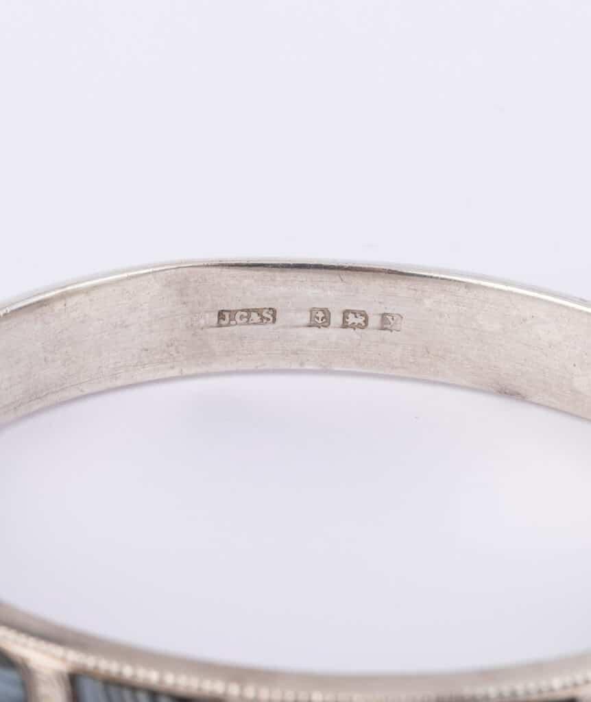 Bracelet écossais argent poinçon