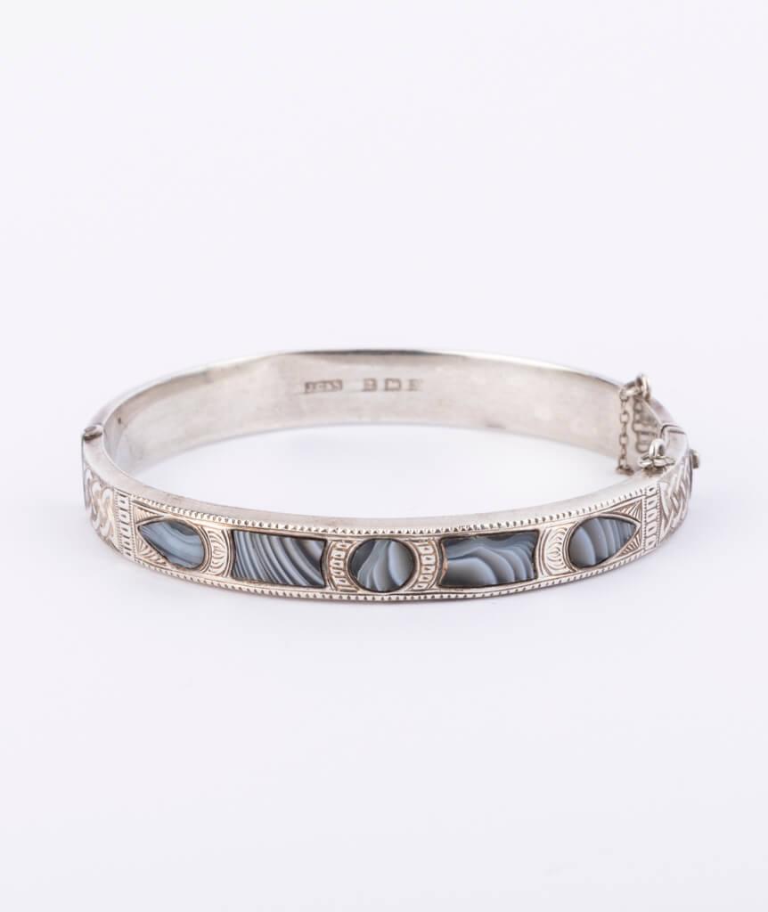 Bracelet écossais argent
