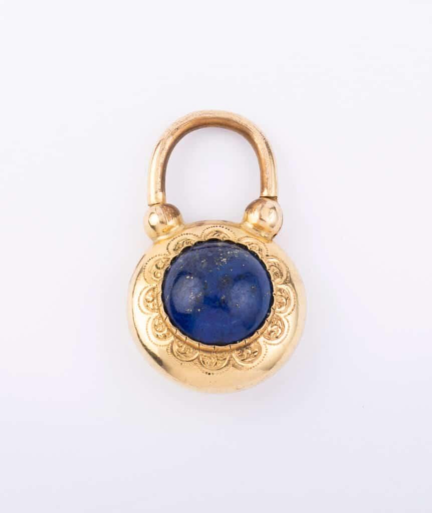 Locket lapis lazuli