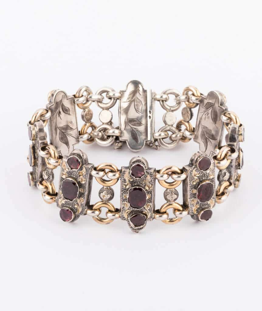 Bracelet argent Granato