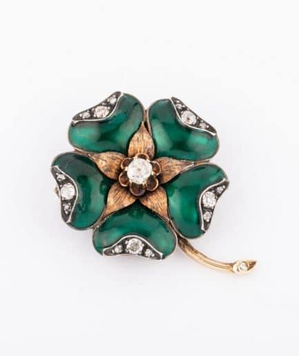"""Broche fleur """"Aubépine"""" product Bijoux Anciens - Caillou Paris"""