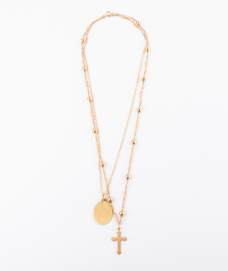 Collier Marie dos