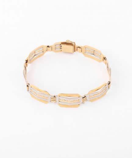 """Bracelet ancien or """"Ponni"""" Bracelet Ancien 1920-1930 Bijoux Anciens - Caillou Paris"""