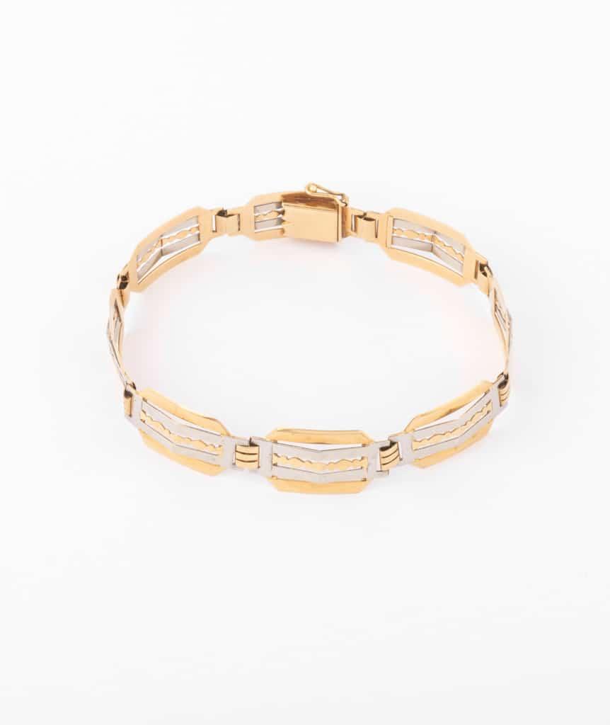 """Bracelet ancien or """"Ponni"""""""