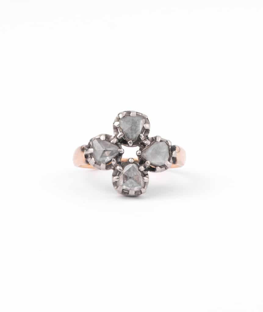 """Bague ancienne diamant """"Cadi"""""""