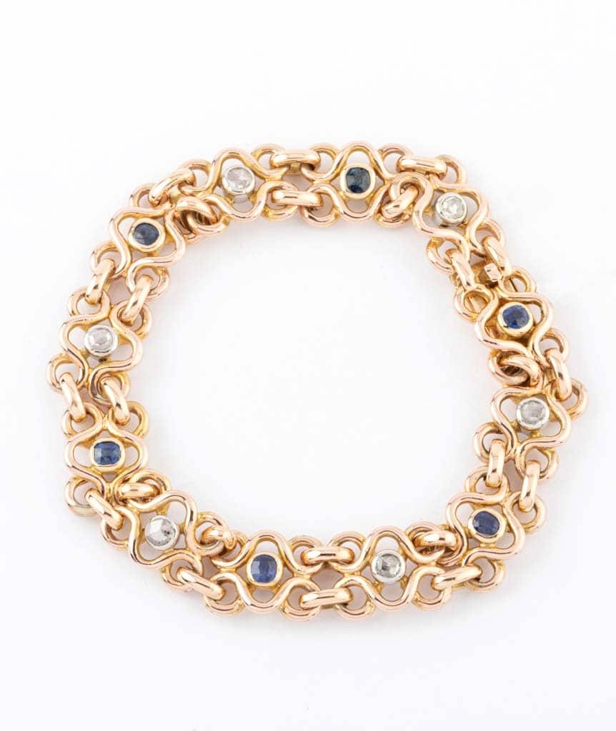 """Caillou Paris - Bracelet ancien or """"Faria"""""""
