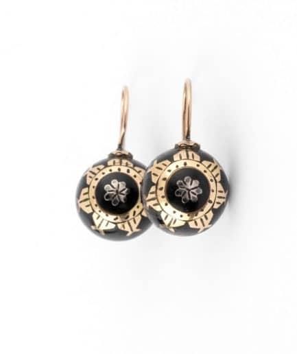 """Boucles d'oreilles anciennes """"Ayna"""" product Bijoux Anciens - Caillou Paris"""