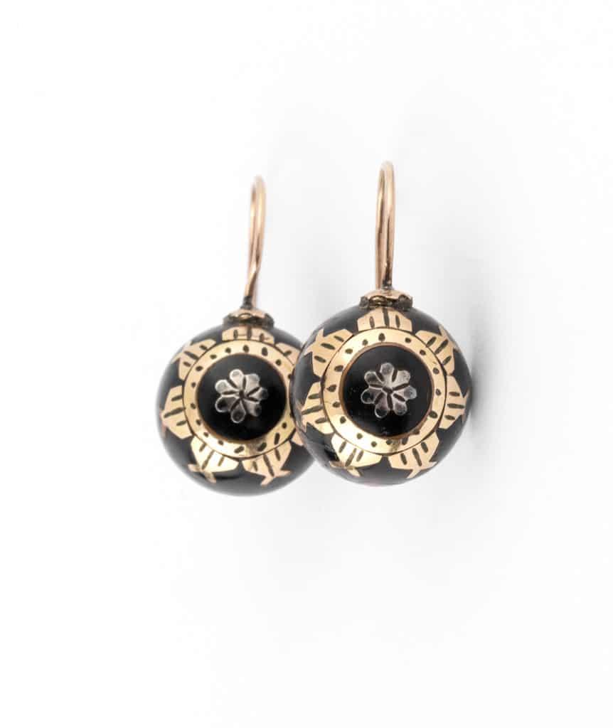Caillou Paris - boucles d'oreilles anciennes Ayna