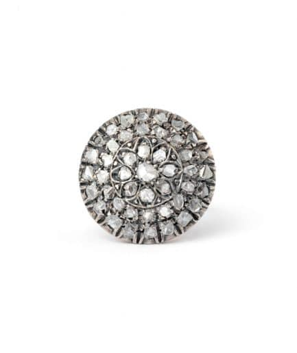 """Bague ancienne diamants """"Rakal"""" Bague Ancienne Argent Bijoux Anciens - Caillou Paris"""