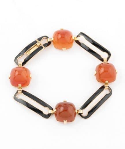 """Bracelet Art déco """"Alani"""" Bracelet Ancien 1920-1930 Bijoux Anciens - Caillou Paris"""