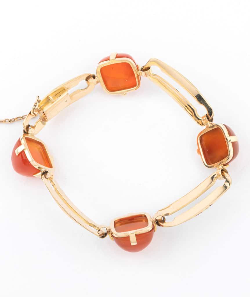 Caillou Paris - Bracelet Art deco Alani dos