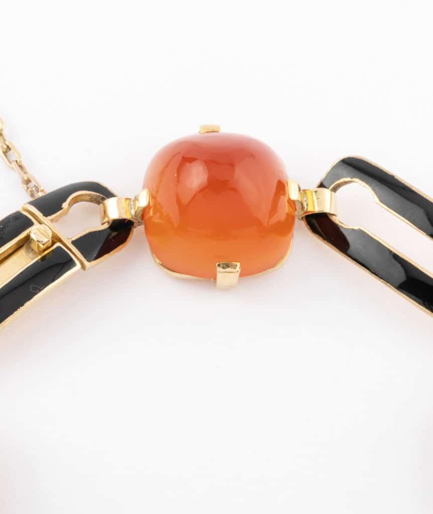 Caillou Paris - Bracelet Art deco Alani fermoir