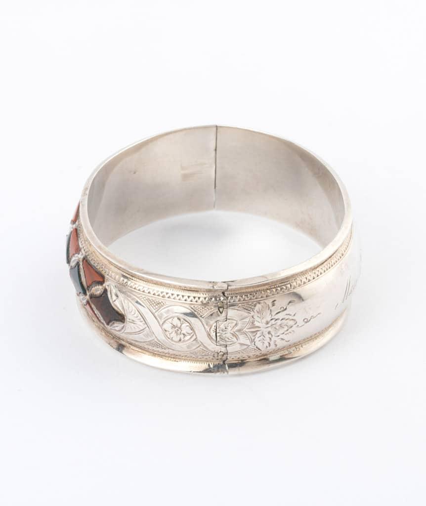 Caillou Paris - Bracelet ancien argent Blaine detail 1