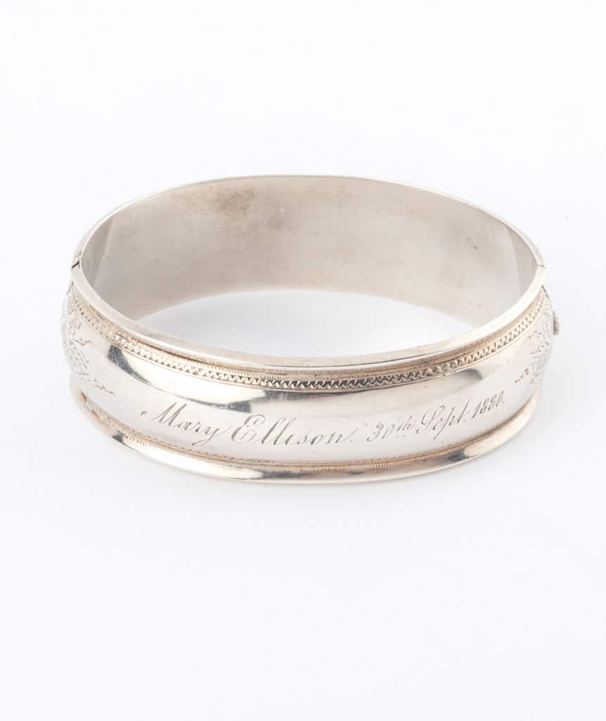 Caillou Paris - Bracelet ancien argent Blaine 2