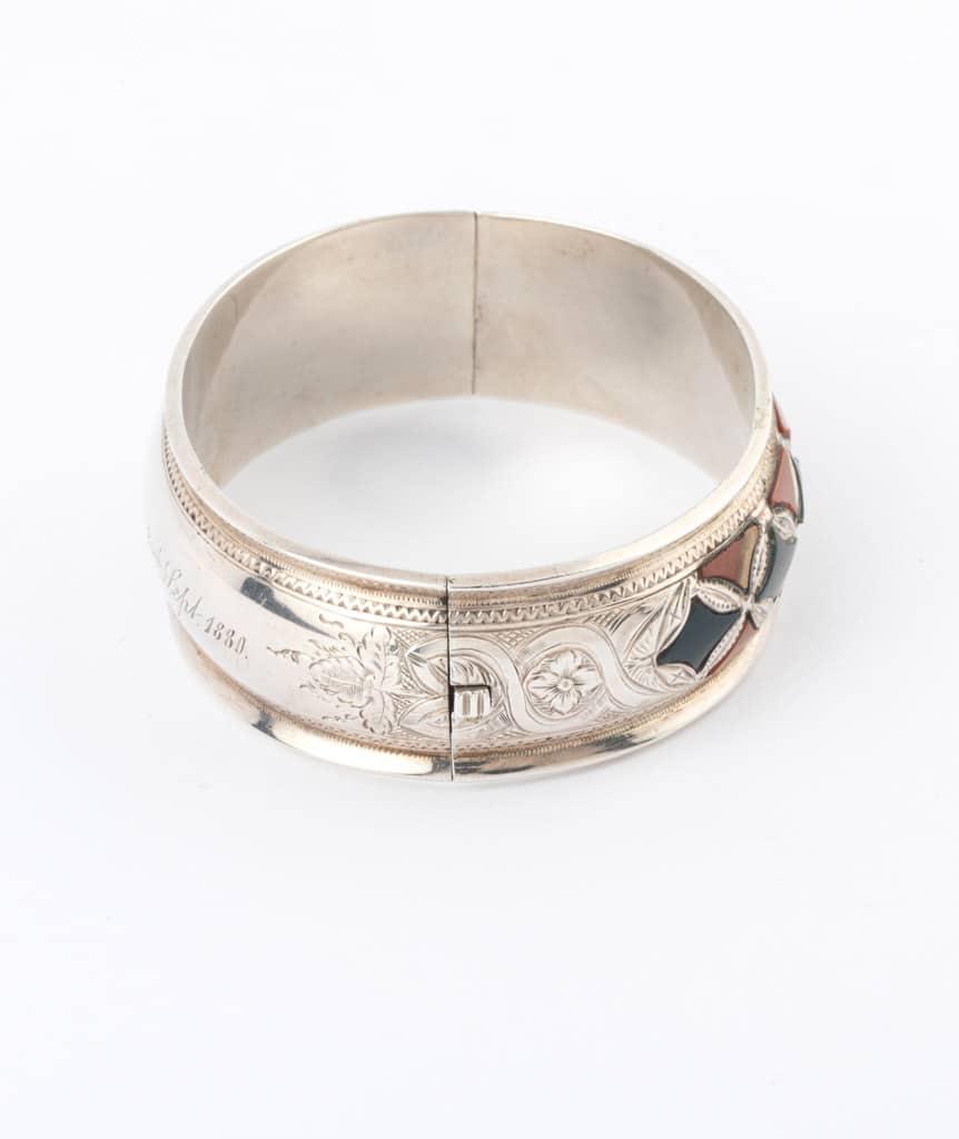 Caillou Paris - Bracelet ancien argent Blaine detail 3