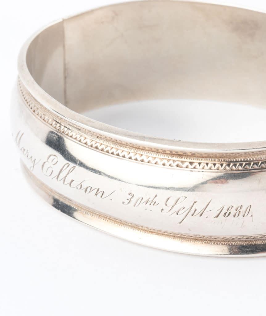 Caillou Paris - Bracelet ancien argent Blaine detail 4