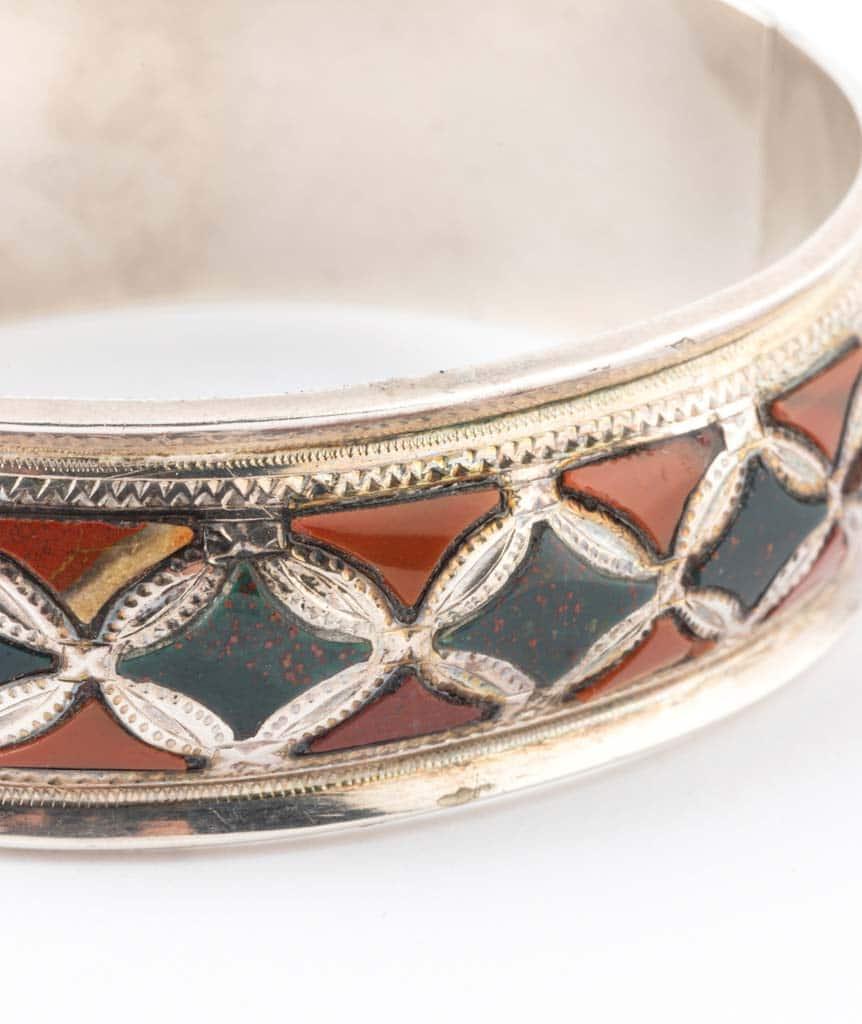 Caillou Paris - Bracelet ancien argent Blaine detail 5