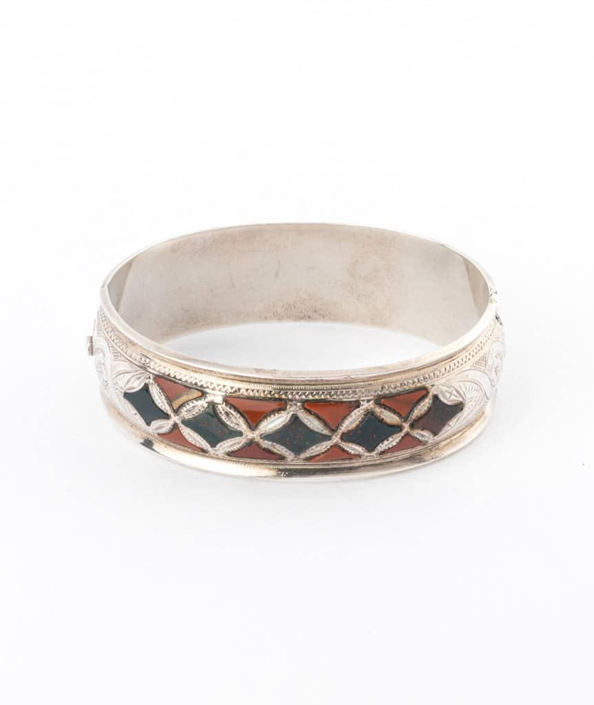 Caillou Paris - Bracelet ancien argent Blaine