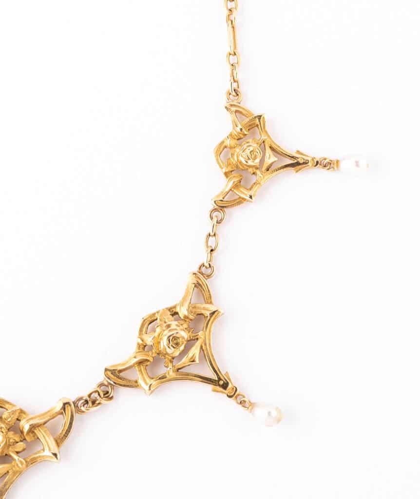 Caillou Paris - Collier draperie Manjari detail 3