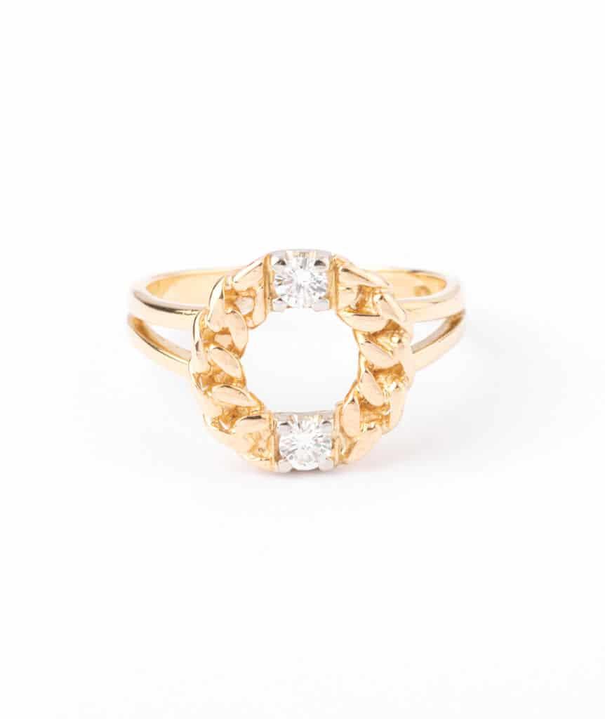 Bague ancienne diamants Kekipi