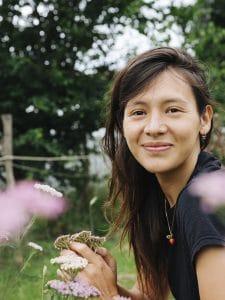 Portrait de Masami Charlotte, la créatrice de Plein Air