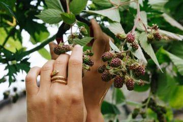 Le geste de la main vu par Masami Charlotte de Plein Air